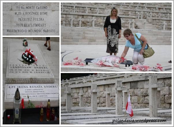 Polish cemetery in Monte Cassino